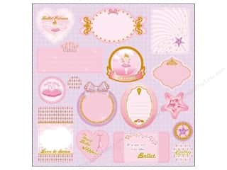 Best Creation Expression Chipboard Ballet Princess