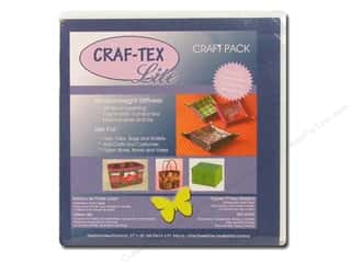 Sew-In Interfacing / Sew-In Stabilizer: Bosal Craf-Tex Lite Sew In Stabilizer 27 x 36 in. White