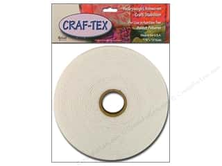 Bosal Craf Tex NonWoven Sew In 1.75&quot;x 10yd Pkg Wht