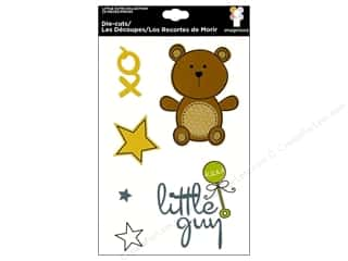 Imaginisce Die Cut Little Cutie Teddy's Toy Box