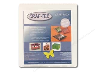 "Bosal Craf Tex Plus NonWoven Fusible 15""x 18"" Package White"