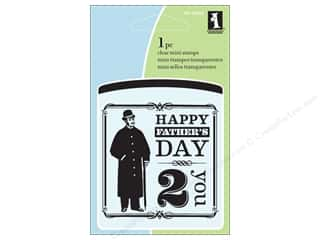 Inkadinkado Clear Stamp Mini Happy Father's Day