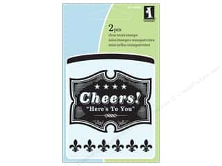 Inkadinkado Clear Stamp Mini Cheers