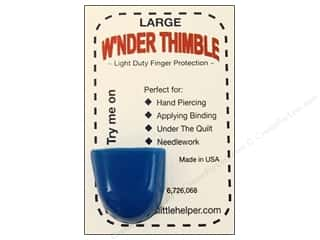 Weekly Specials Fairfield Quilter's 80/20 Batting: Quilters Little Helper Thimble W'nder Large