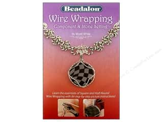 Beadalon scrimp: Beadalon Wire Wrapping Component & Stone Settting Book