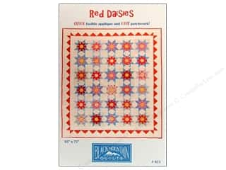 Red Daisies Pattern