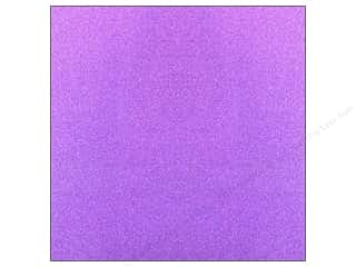 Sparkle Sale American Crafts Glitter Paper: American Crafts 12 x 12 in. Paper Pow Glitter Solid Grape (15 sheets)