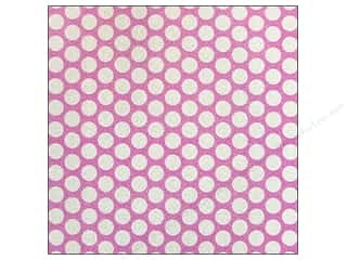 American Crafts 12 x 12 in. Paper Pow Glitter Medium Dot Blossom (20 sheets)