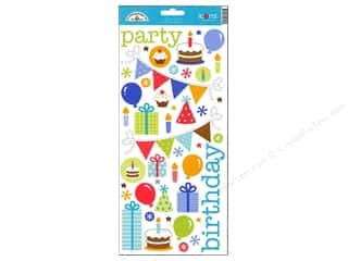 Doodlebug Sticker Cdstk Icons Birthday Celebration