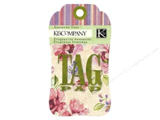 K&Co Tag Pad Watercolor Bouquet