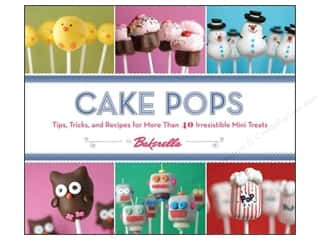 Chronicle Books Chronicle Stationery: Chronicle Cake Pops Book by Angie Dudley and Bakerella