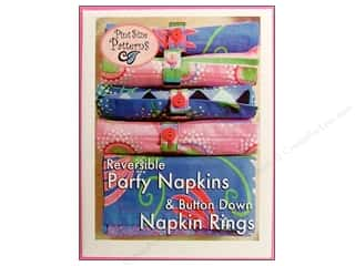 Reversible Party Napkins Pattern