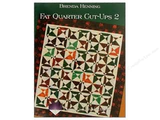 Bear Paw Productions Fat Quarter / Jelly Roll / Charm / Cake Books: Bear Paw Productions Fat Quarter Cut Ups 2 Book by Brenda Henning