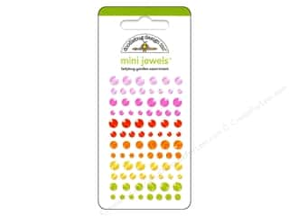 Doodlebug Sticker Jewels Mini Ladybug Garden