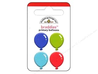 Doodlebug Brads Braddies Balloon Primary