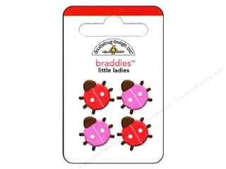 Doodlebug Brads Braddies Little Ladies