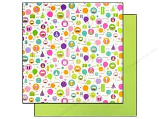 Doodlebug Paper 12x12 Cake &amp; Ice Cream HipHip Hray (25 sheets)