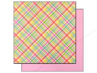 Notions: Doodlebug Paper 12x12 Nifty Notions Sew Plaid (25 sheets)