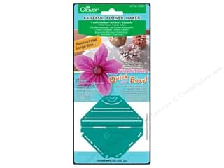 Quilting Templates / Sewing Templates: Clover Kanzashi Flower Maker Pointed Petal Large