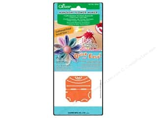 Quilting Templates / Sewing Templates: Clover Kanzashi Flower Maker Gathered Petal Small