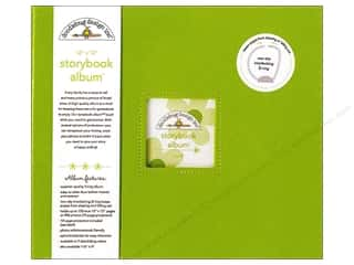 "Scrapbook / Photo Albums Brown: Doodlebug Album Storybook 12""x 12"" Limeade"