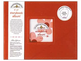 "Scrapbook / Photo Albums: Doodlebug Album Storybook 8""x 8"" Ladybug"