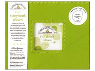 "photo paper dimension: Doodlebug Album Storybook 8""x 8"" Limeade"