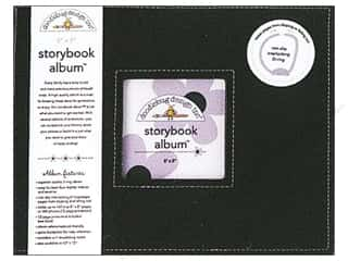Doodlebug Album Storybook 8x8 Beetle Black