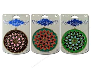 Blue Moon Pendant BS Metal Flower Burst Assorted