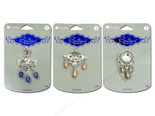 Blue Moon Pendants Boutique Select Metal Acrylic Silver
