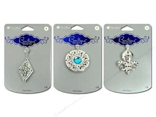 Blue Moon Pendants Boutique Select Metal/Acrylic/Stone Silver