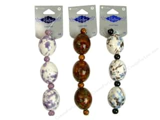 Blue Moon Beads BS Ceramic Nugget Astd
