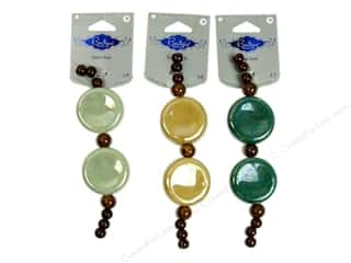 Blue Moon Beads Boutique Select Ceramic Large Coin Assorted