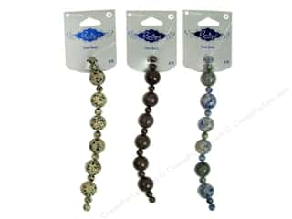 Blue Moon Beads BS Stone 14mm Round Astd