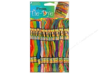 Yarn & Needlework Floss: Six Strand Embroidery Floss Pack Tye Dye 36pc by Prism