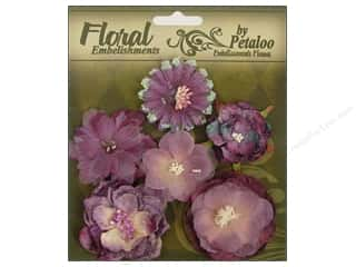 Brandtastic Sale Petaloo: Petaloo FloraDoodles Chantilly Mixed Blooms Lilac