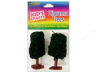 Darice Diorama Tree 2.25&quot; 2pc