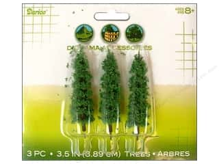 "Darice Diorama Tree with Powder 3.5"" 3pc"
