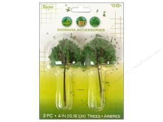 "Darice Diorama Tree with Powder 4"" Small 2pc"