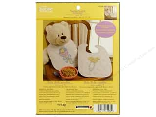 Weekly Specials Petaloo: Bucilla Xstitch Kit Quilted Bibs Twinkle Pair