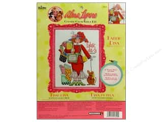 Bucilla Xstitch Kit Alma Lynne Fabric Diva