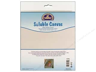 "Tack Cloth: DMC Soluble Canvas 14ct 8""x 8.5""- Design included."