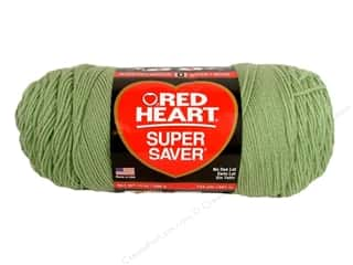 Red Heart Super Saver Jumbo Yarn Frosty Green 14 oz.