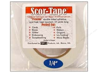 "Scor Pal Scor Tape Dbl Side Adhesive .25"" 27yd"