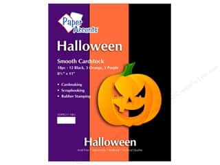 "Paper Accents Cardstock Variety Pack 8.5""x 11"" Halloween 18pc"