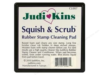 Judikins Rubber Stamp Cleaning Pad Squish & Scrub