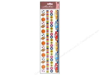 EK Sticko Sticker Epoxy Border Boy Ribbon