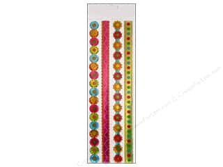 Generations Flowers: EK Sticko Stickers Epoxy Border Generic Ribbon