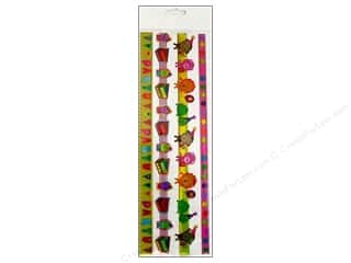 Party Supplies Captions: EK Sticko Stickers Epoxy Border Happy Birthday Ribbon