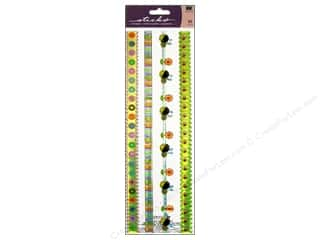 Spring Borders: EK Sticko Stickers Epoxy Border Spring Is In The Air Ribbon